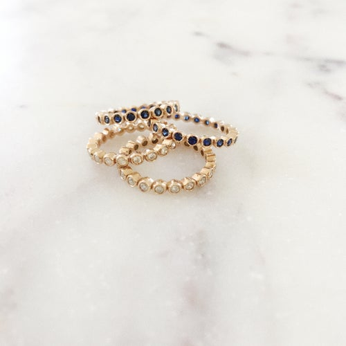 Image of Sapphire Moon Magic Ring