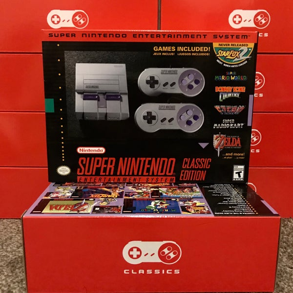Image of Super Nintendo Entertainment System Classic Edition (SNES)