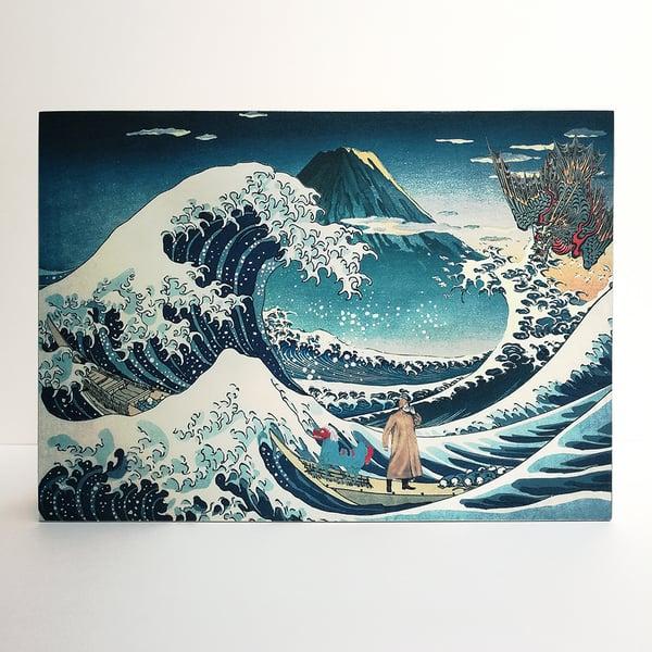 Image of La gran ola de Kanagawa