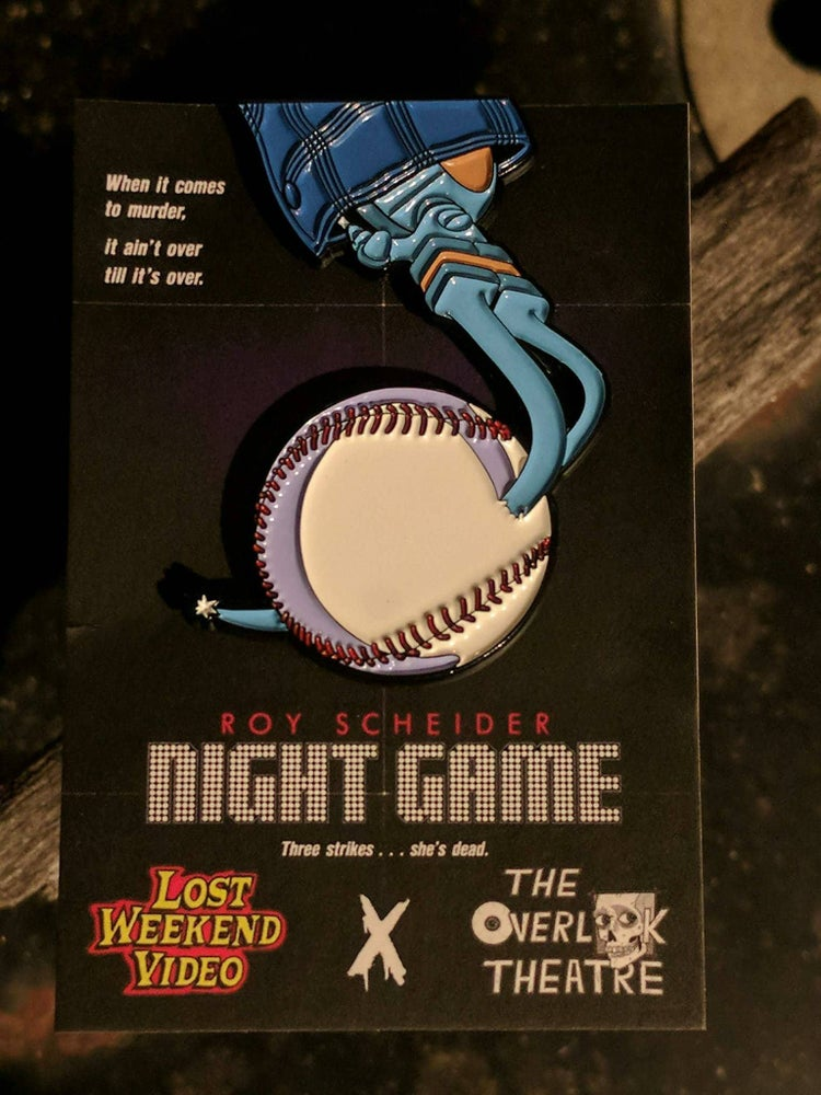 Image of Night Game Enamel pin