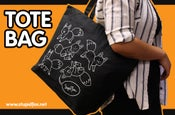 Image of Zippered Tote Bag