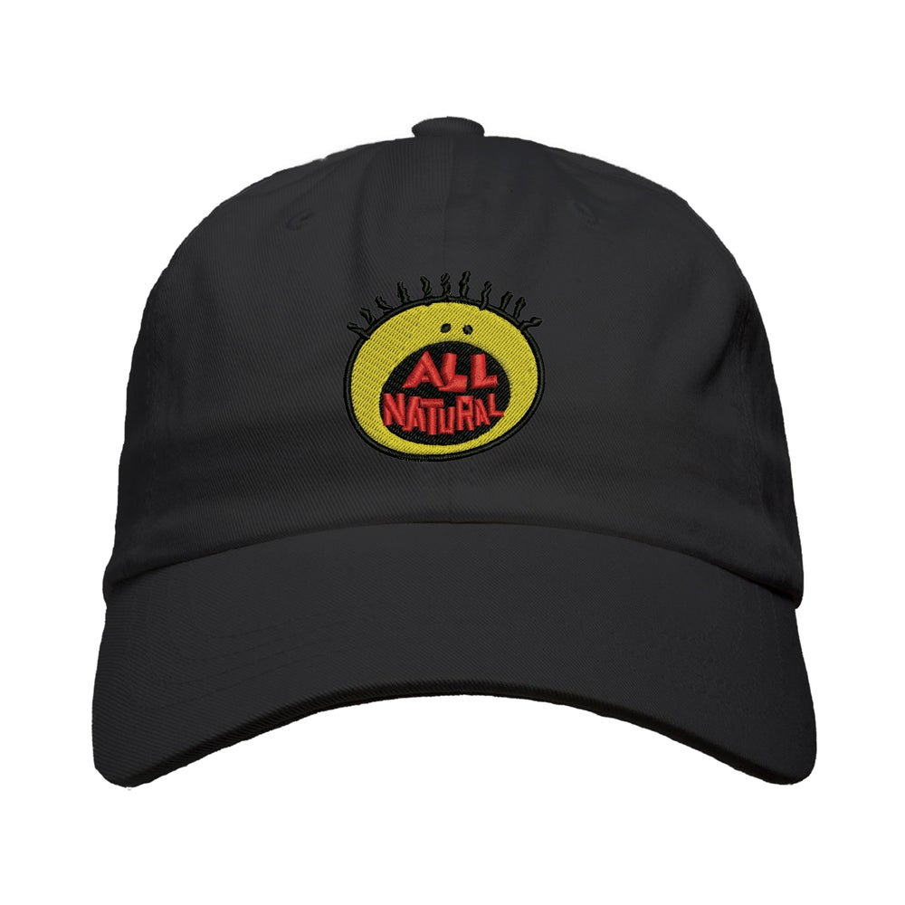 "Image of ""All Natural"" Puff Dad Hat"