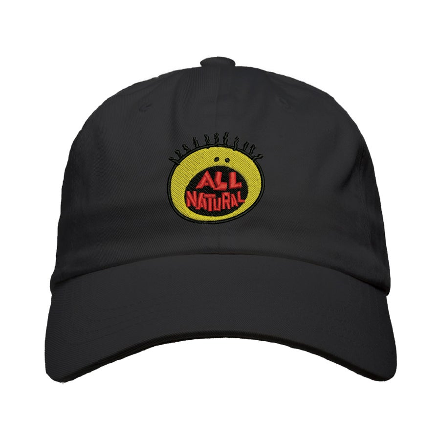 """Image of """"All Natural"""" Puff Dad Hat"""