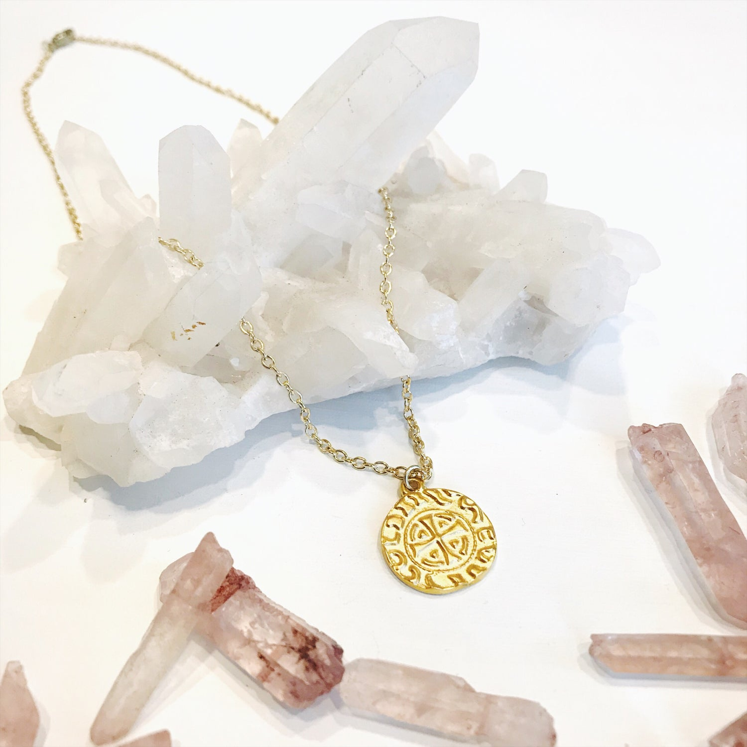Image of Gold Coin Necklace