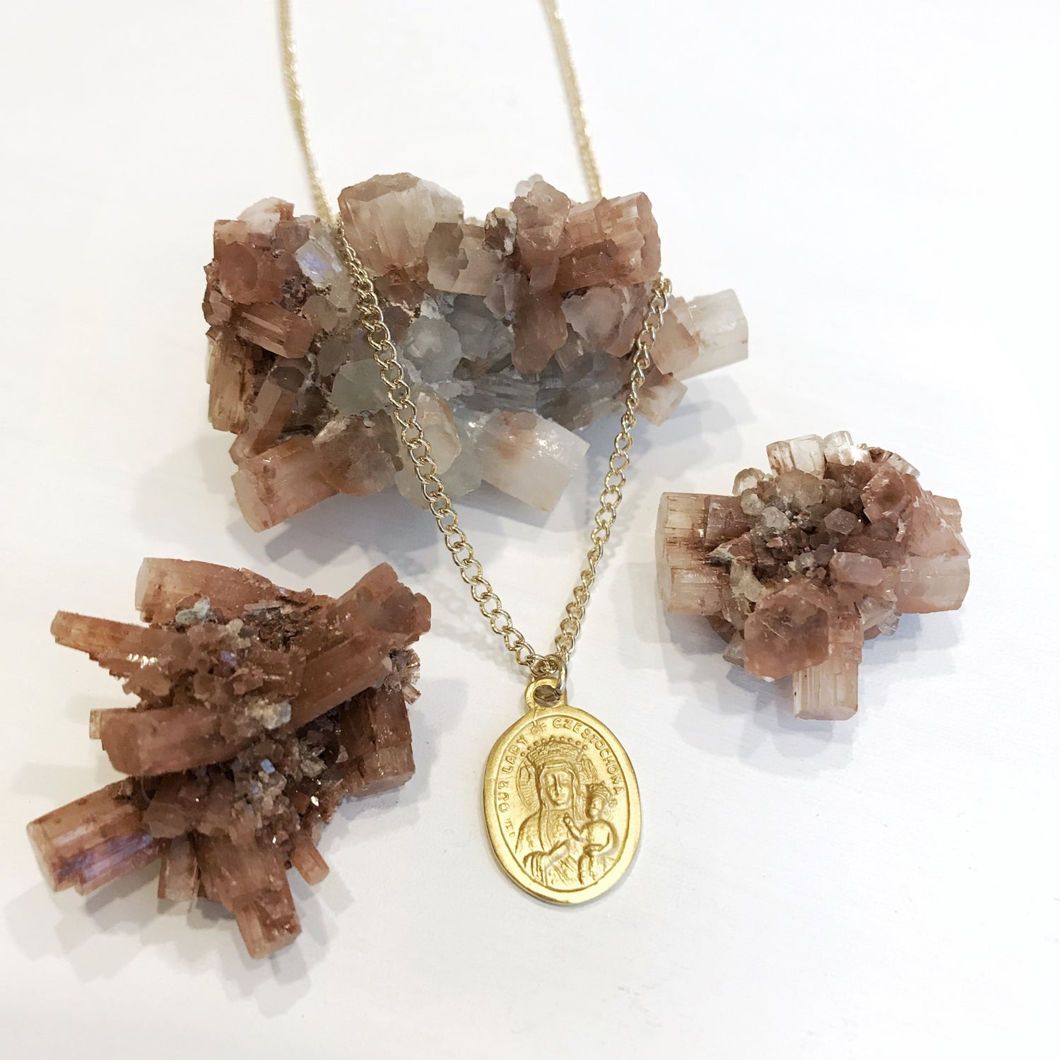 Image of Our Lady of Czestochowa Pendant