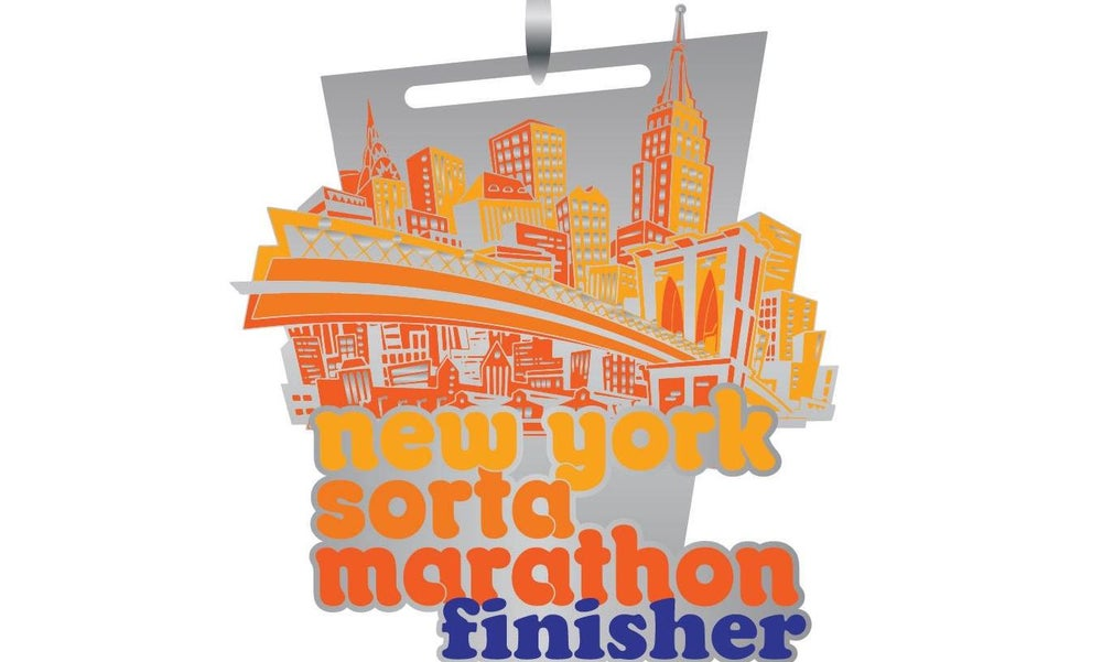 Image of New York Sorta Marathon Finisher Medal