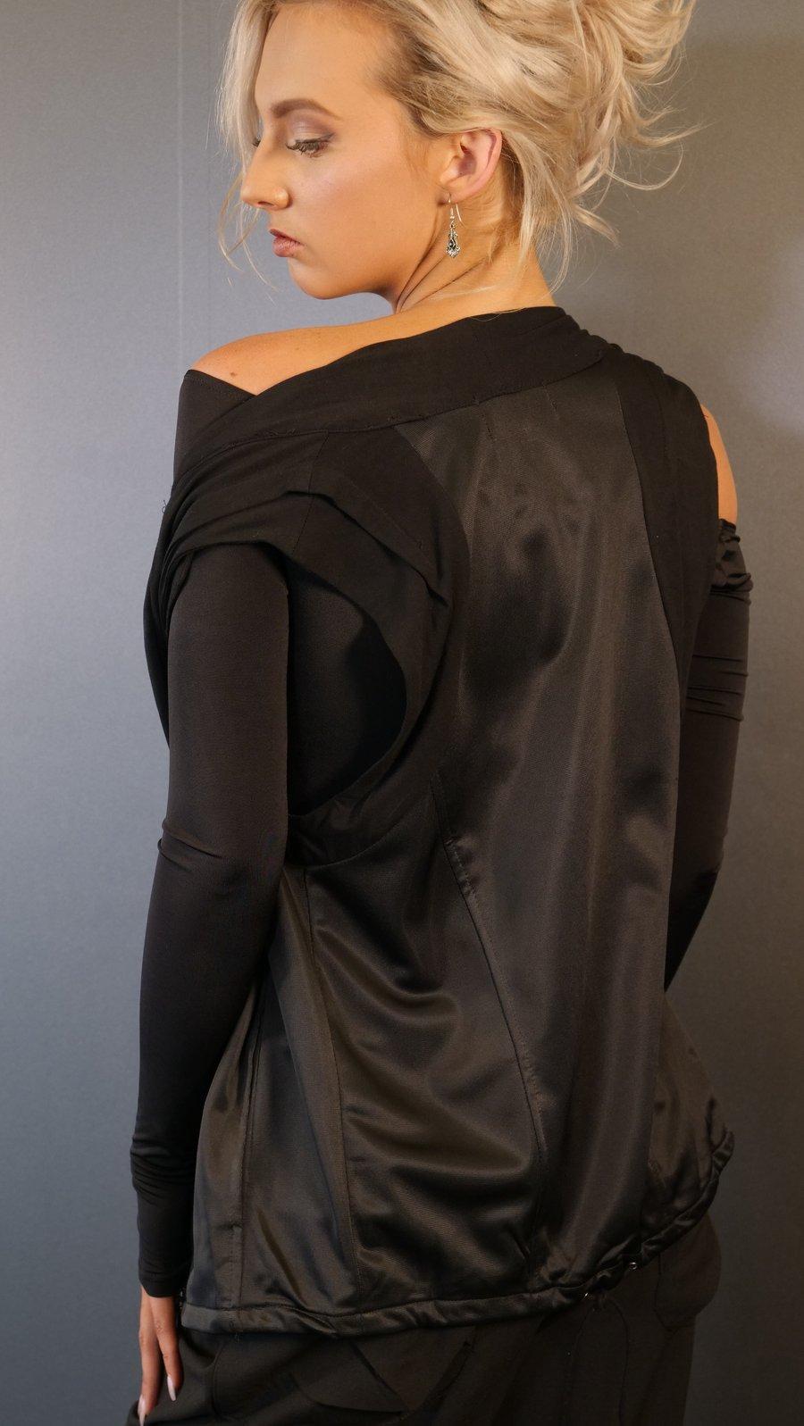 Image of Zip Vest F6011 Dancewear latin ballroom