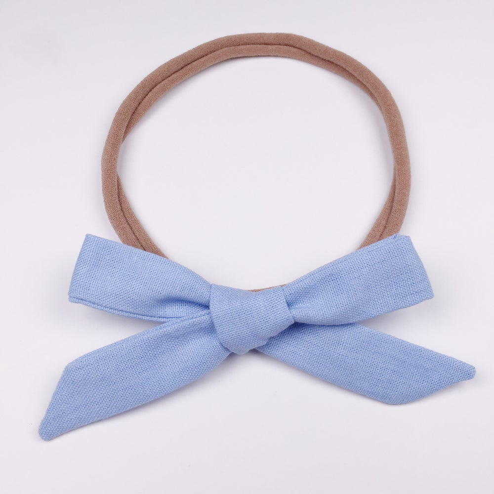 Image of Schoolgirl Bow // Bleu Belle