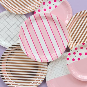 Image of Flamingo Dot Large Plates