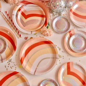 Image of Mini Disco Canape Plates
