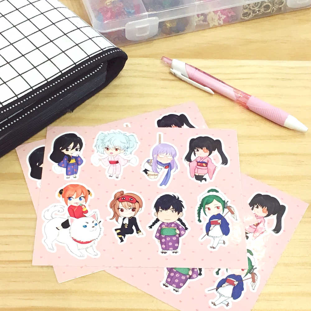 Image of Gintama Sticker Sheet