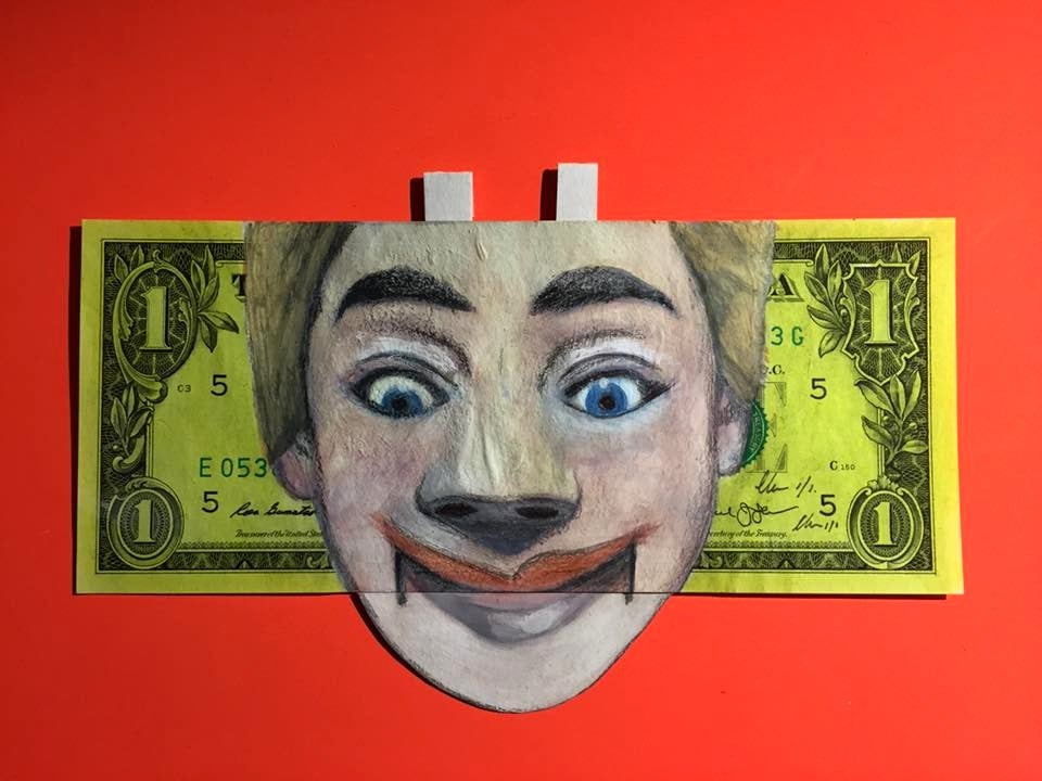 Image of Money talks Money Art