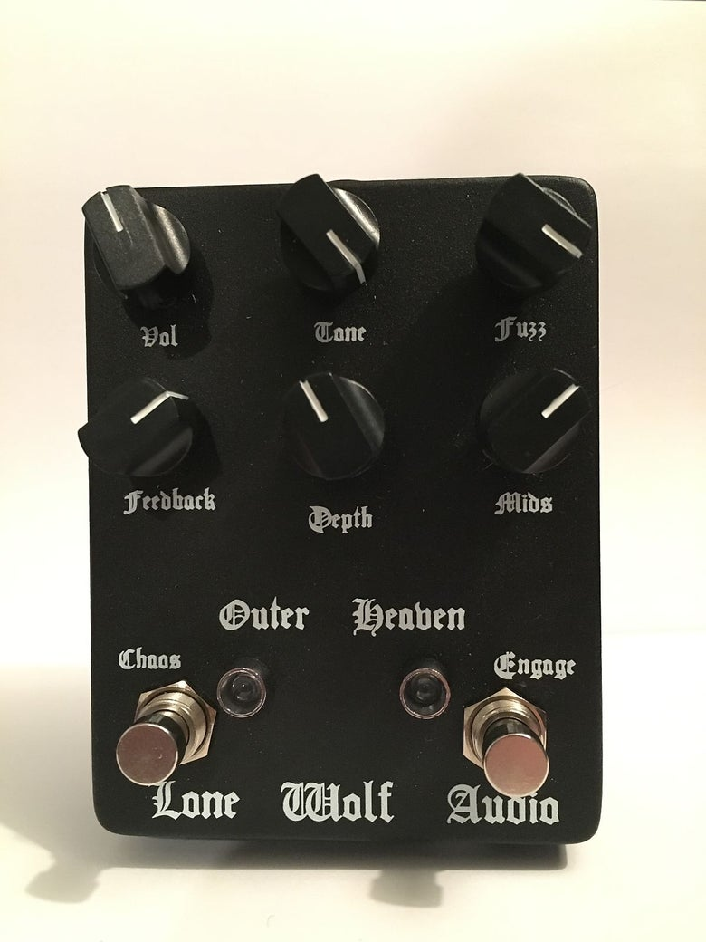 Image of Outer Heaven V2  demolition fuzz pre order