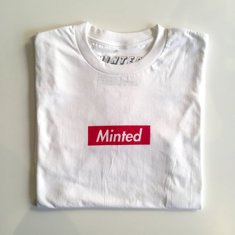 Image of Minted Box Logo (Red)