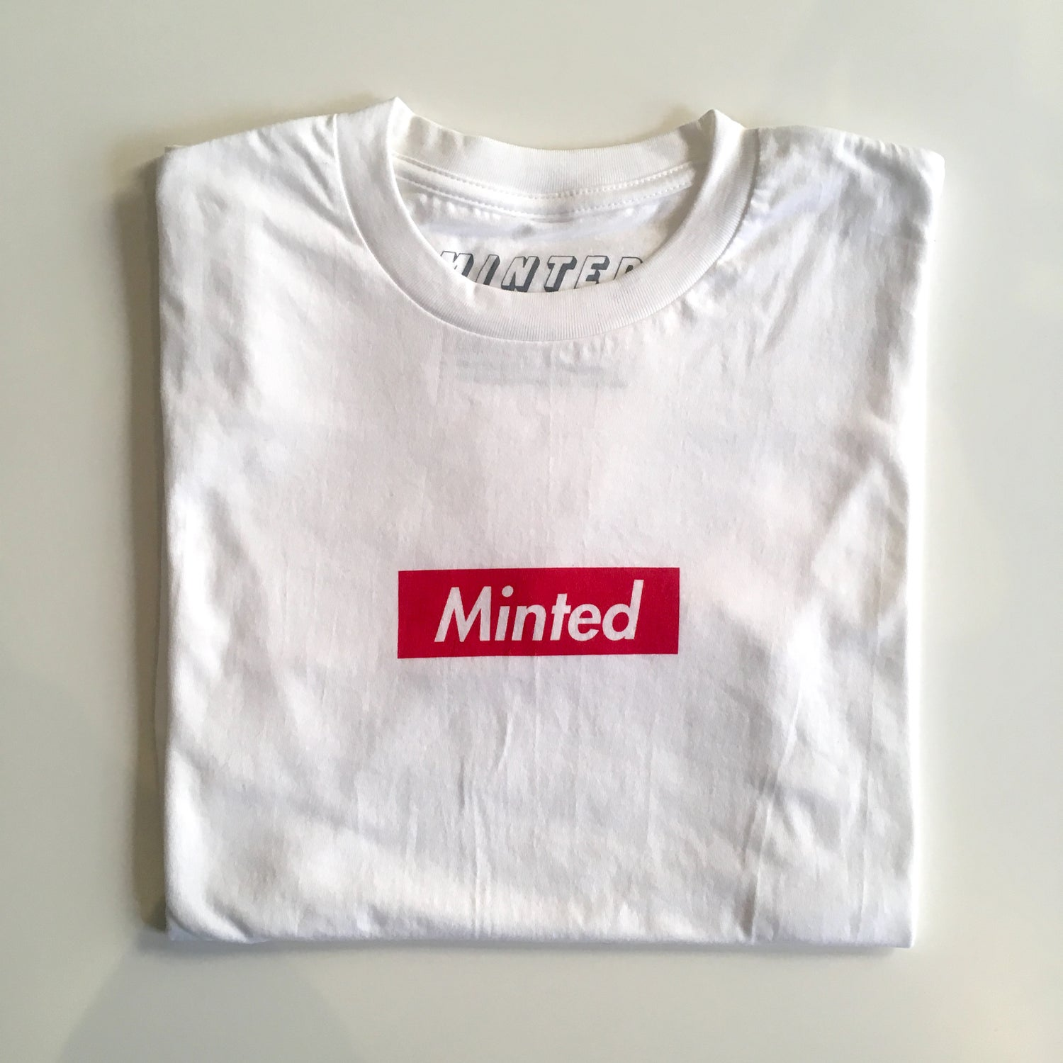Image of Minted Box Logo Tee