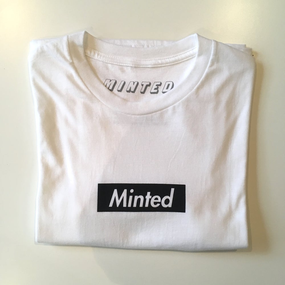 Image of Minted Box Logo (Black)