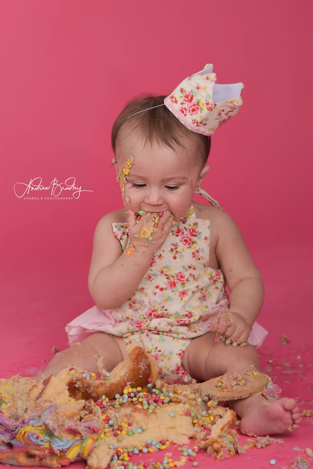 Image of CAKE SMASH photography session