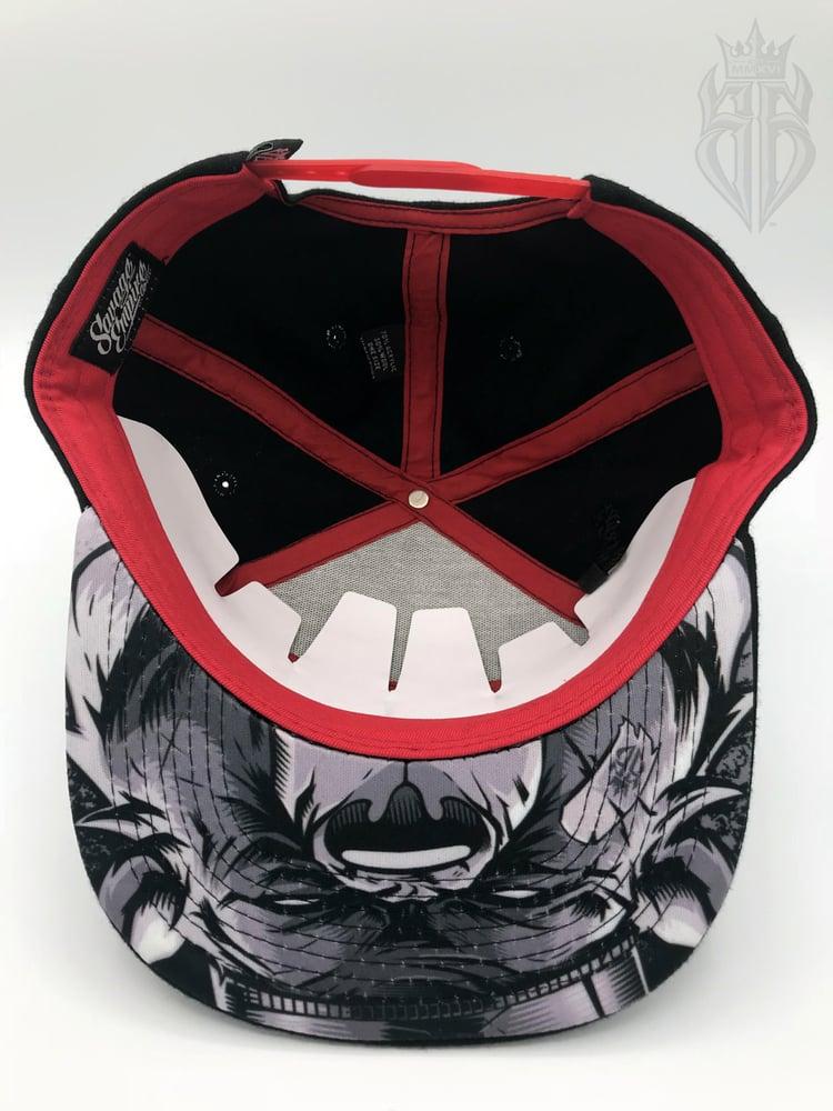 Image of BlackOut EDITION SavageKing Black/Red Hat