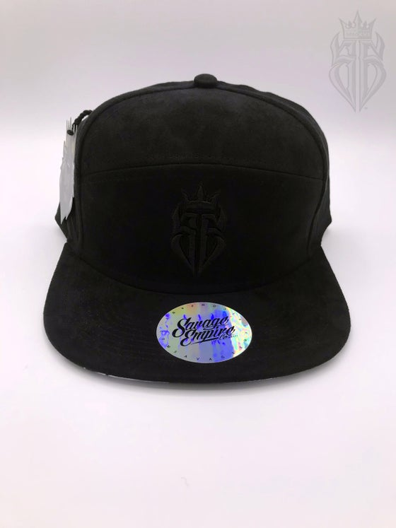 Image of BlackOut EDITION SavageKing Suede Black/Black Hat