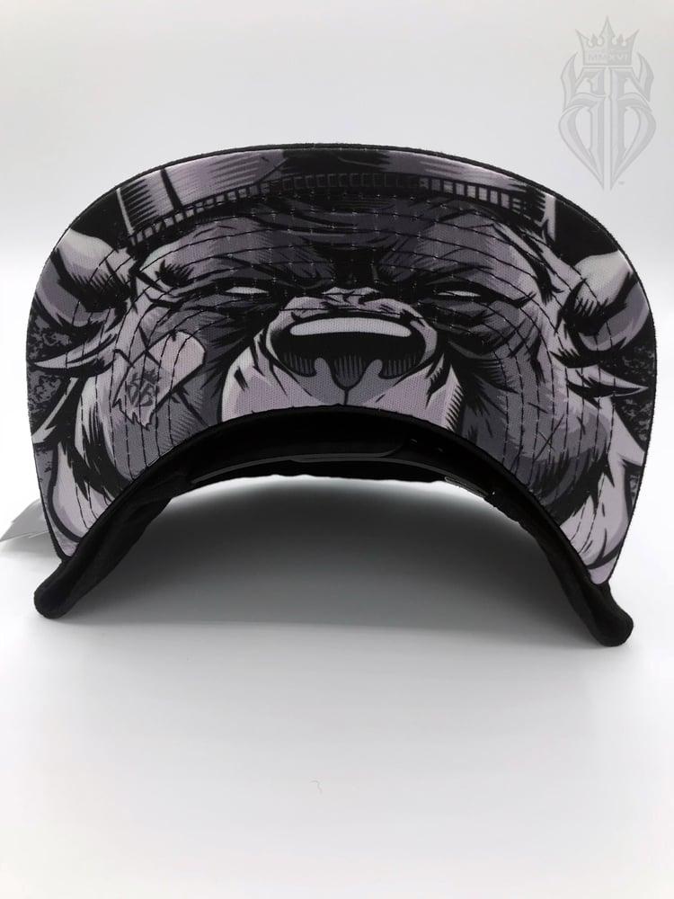 Image of BlackOut EDITION SavageKing Suede Black/Black Hat