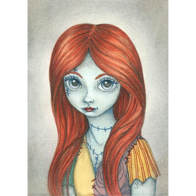 Image of Sally 4x6 print