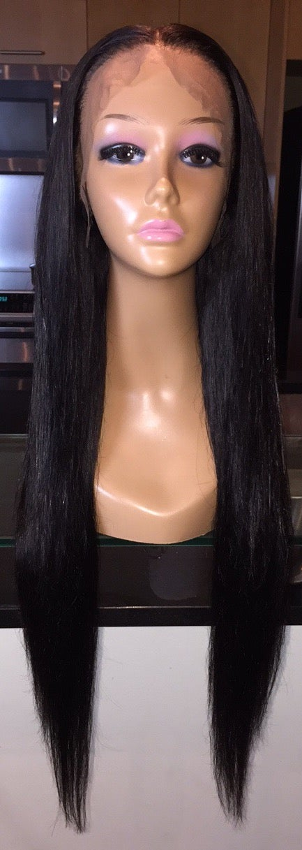 "Image of Indian Straight 24"" Custom Lace Frontal Wig!"