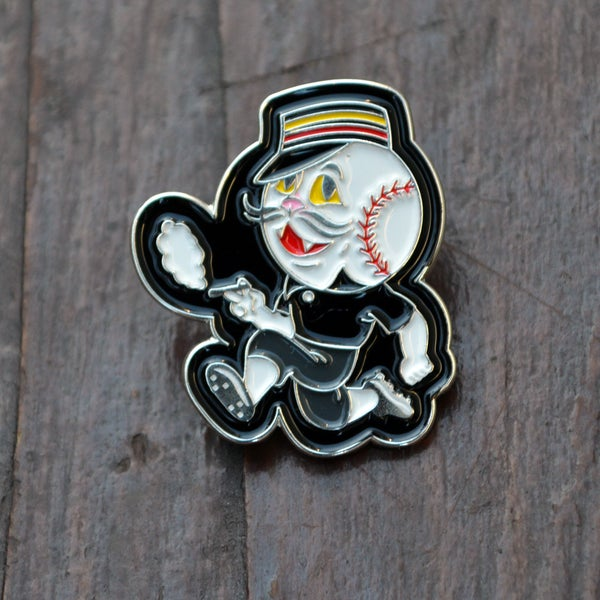 Image of The Strikeout Cat pin - Aaron Martinez