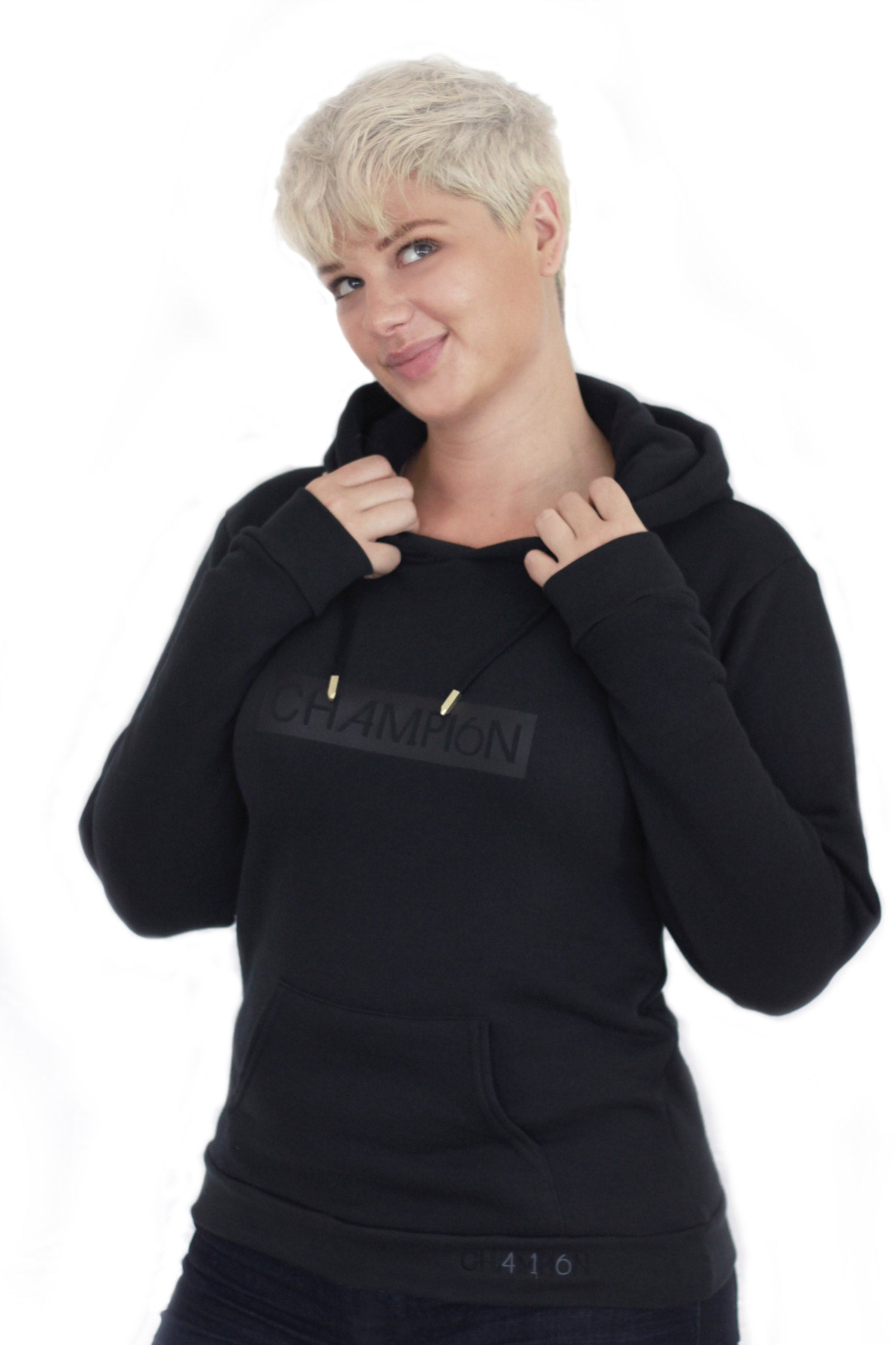 Image of unisex block hoody