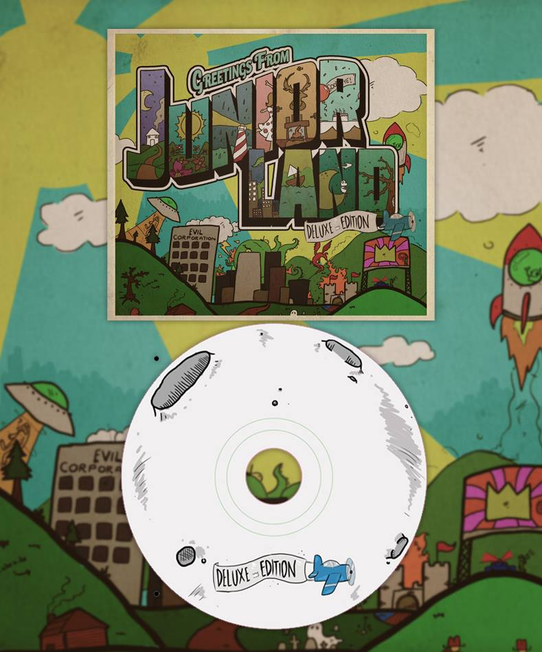 Image of Juniorland Deluxe Edition CD