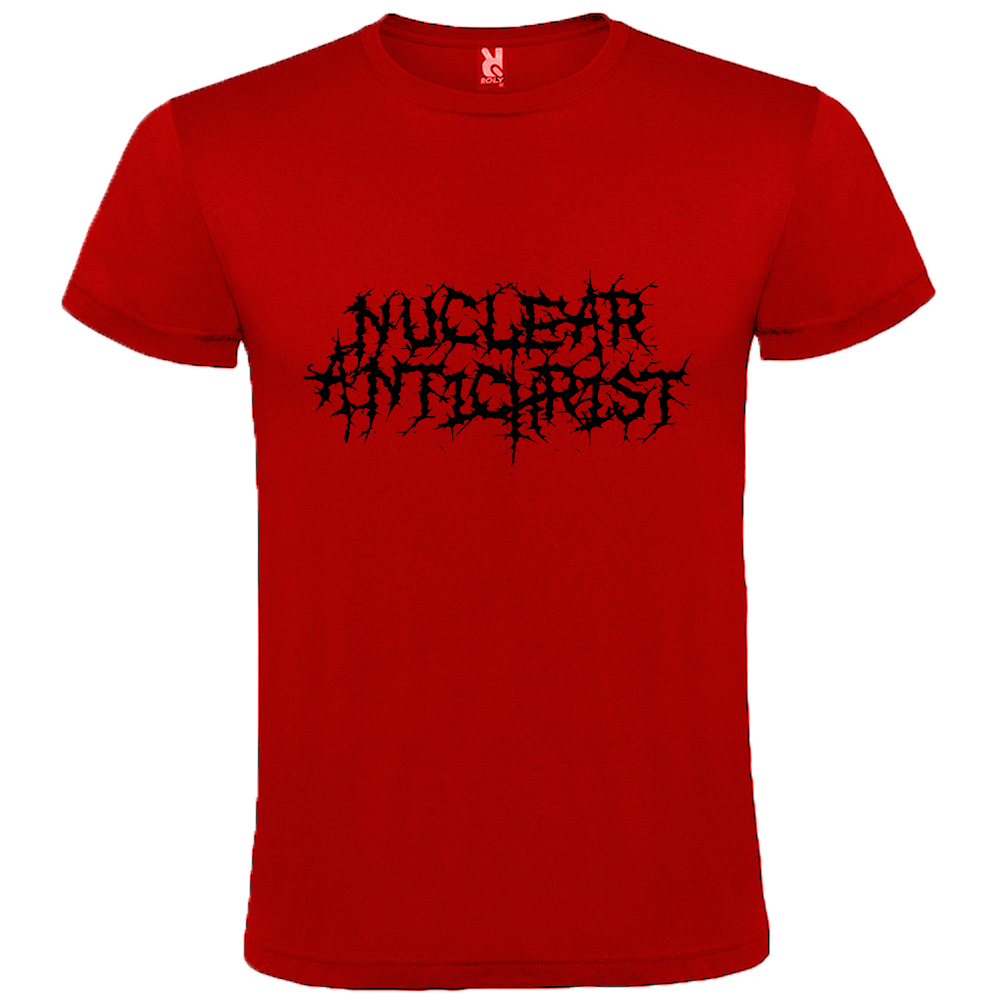 Image of Nuclear Antichrist Red (Logo) - T-Shirt
