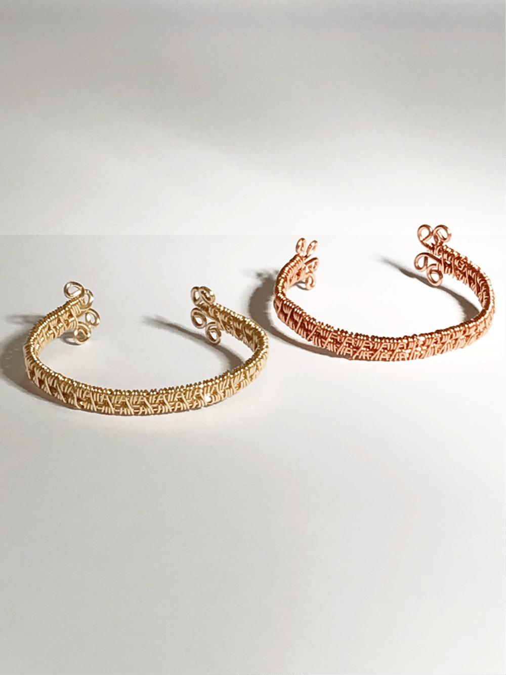 Image of Copper Wire Bangle