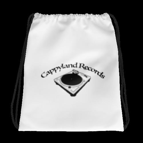 Image of Cappyland Records Drawstring Bookbag
