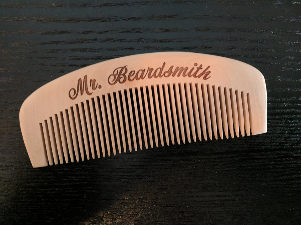Image of Wooden Beard Comb