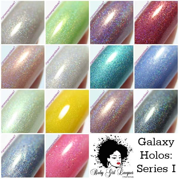 Image of Galaxy Collection: Series I  (2013-14)