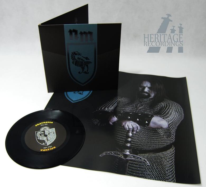 "Image of NOKTURNAL MORTUM ""Orathania/Kolyada"" 7"" EP - BLACK"