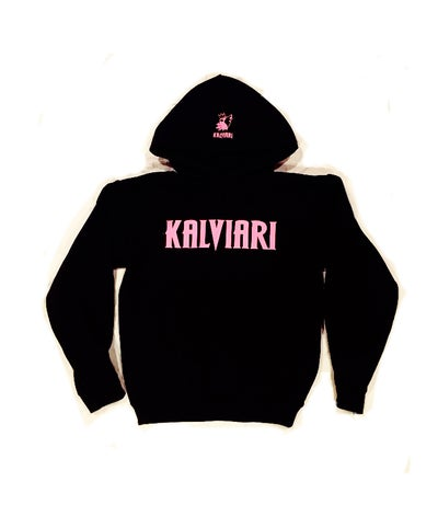 "Image of KALVIARI SAMO WOLF MENTALITY PULLOVER HOODIE ""VICTORIOUS"" EDITION"