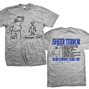 "Image of SHEER TERROR ""Euro Swing Thru 2017"" T-Shirt"