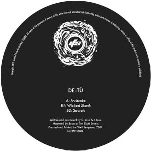 Image of IFS008: DE-TÜ - Fruitcake / Wicked Skank / Secrets + Digital copies
