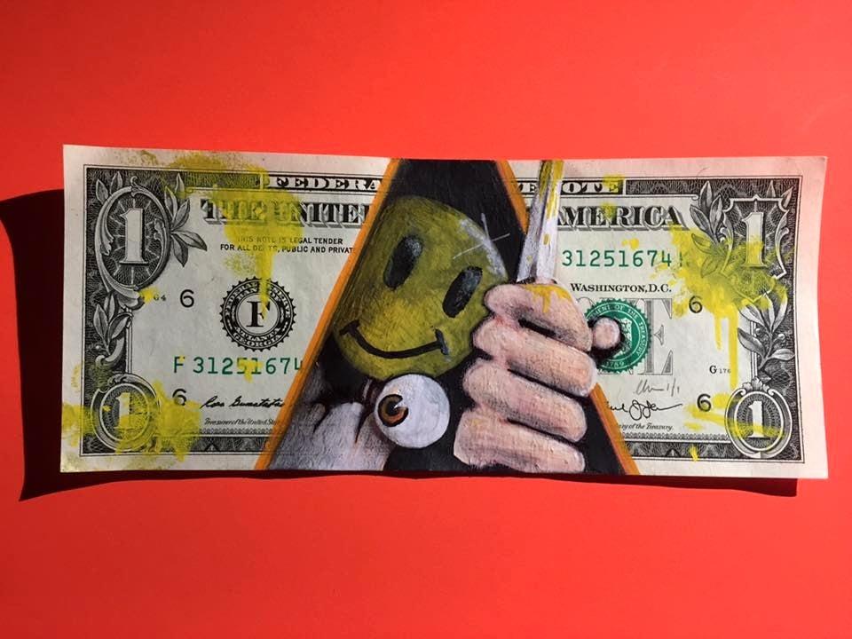 Image of Fancy some milk Money Art