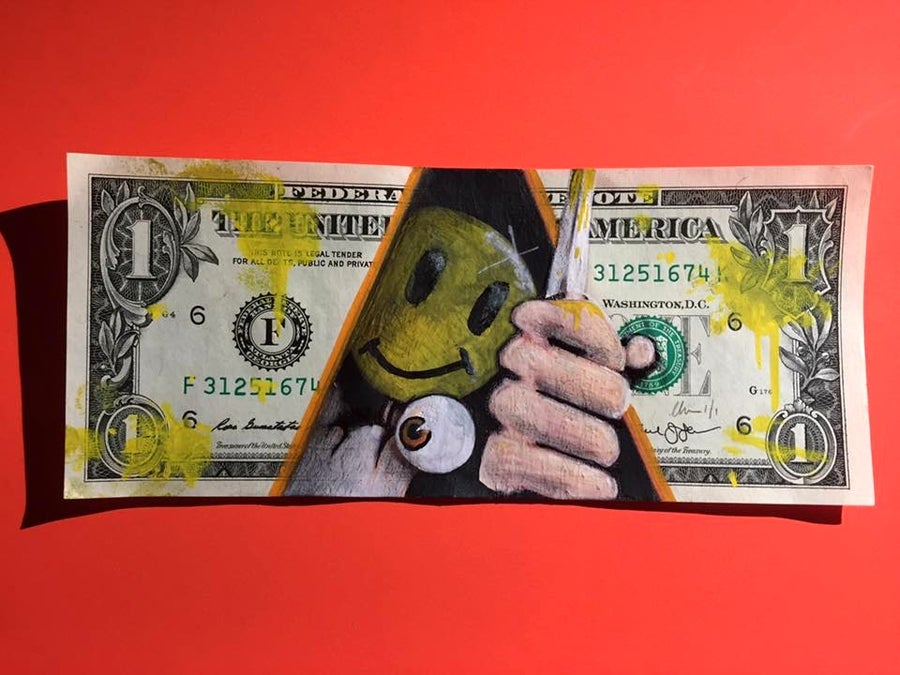 Image of Fancy some milk Money Art