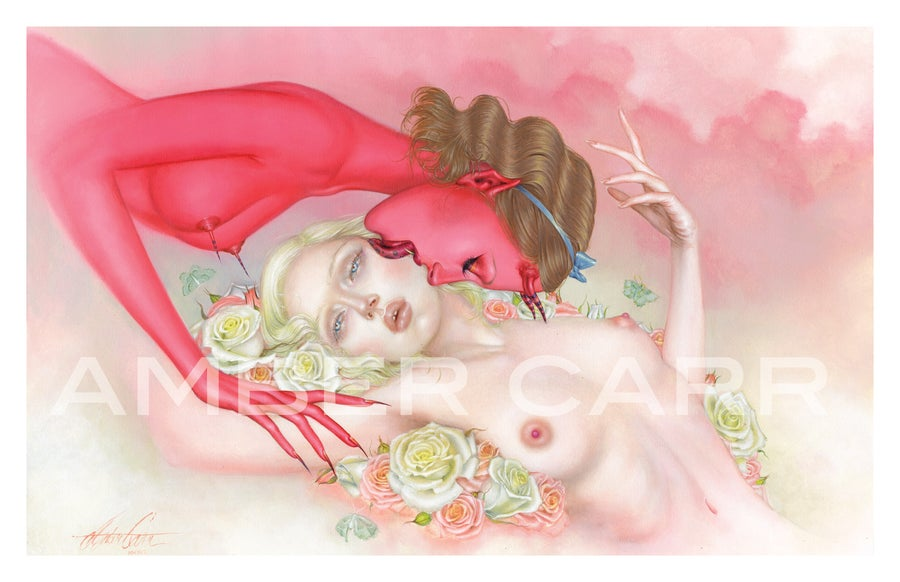 "Image of ""The Devil's Kiss"" 11"" x 17"" Print"