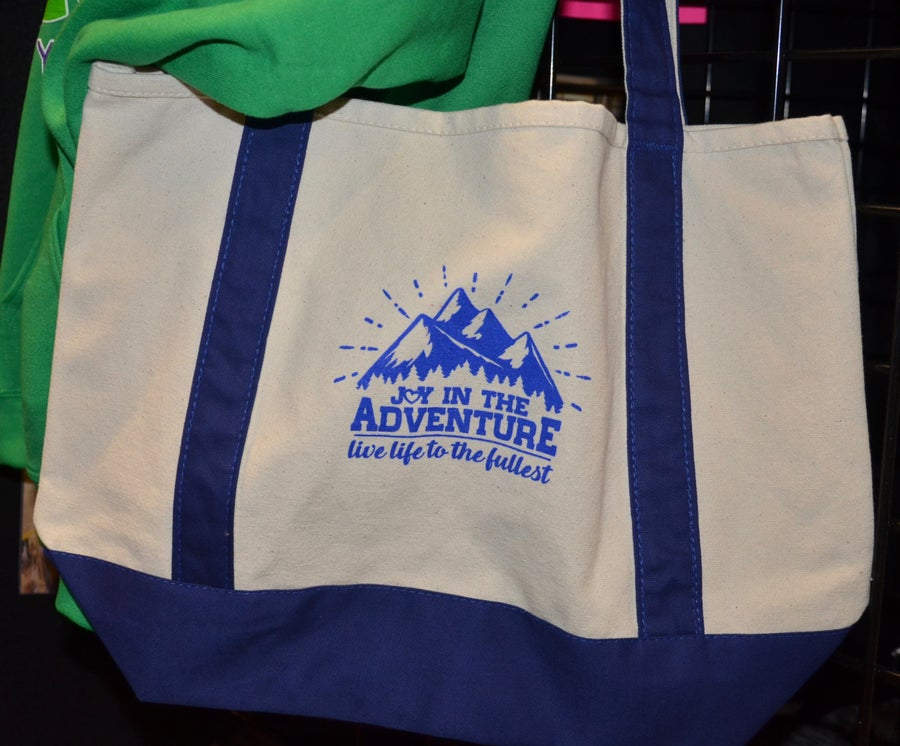 Image of Joy In The Adventure Canvas Tote