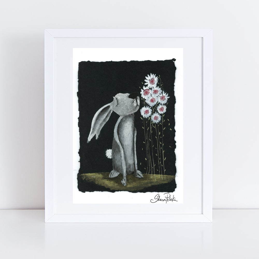 Image of Smell The Flowers PRINT