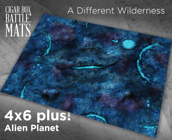 Image of Alien Planet -- 4x6 plus -- #530