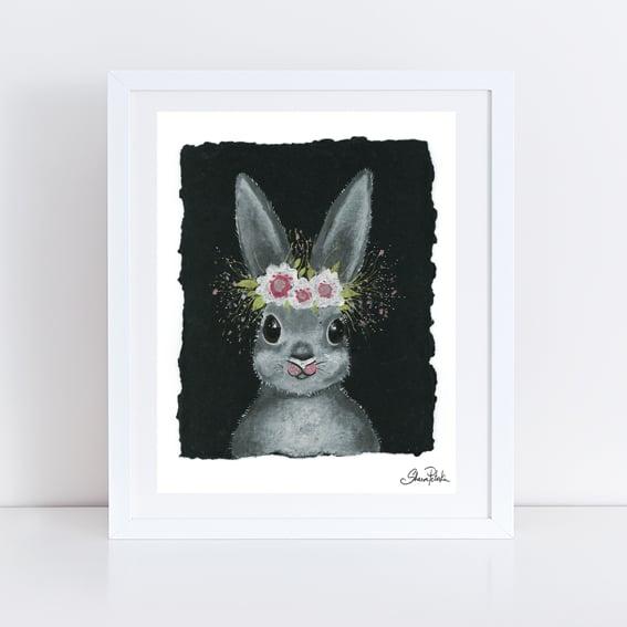 Image of Bella Rabbit PRINT