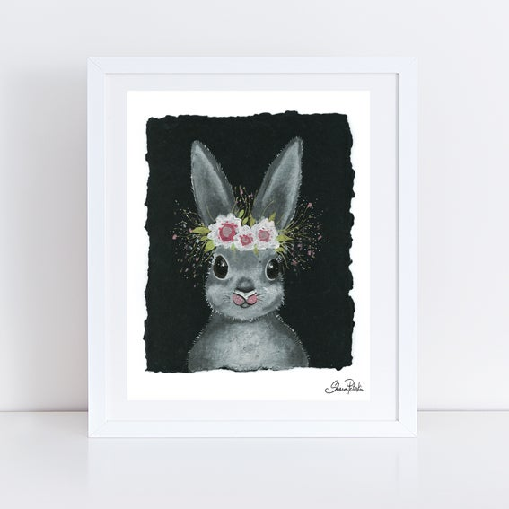 Image of Bella Rabbit PRINT