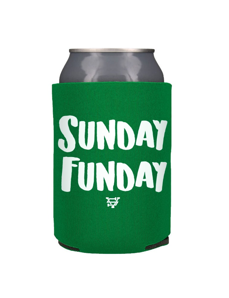 Image of Sunday Funday Beer Koozie