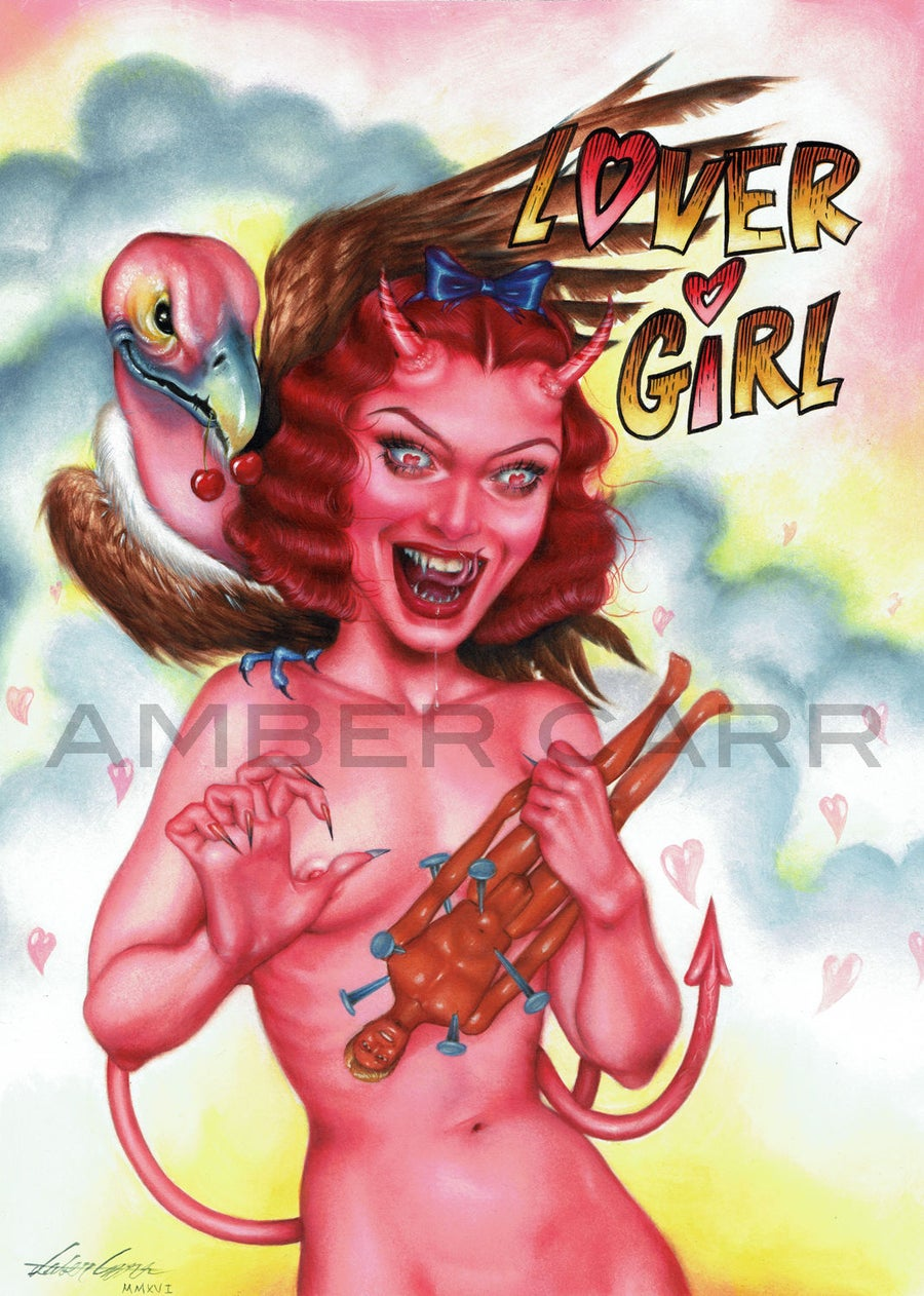 "Image of ""Lover Girl"" 11"" x 14"" Print"