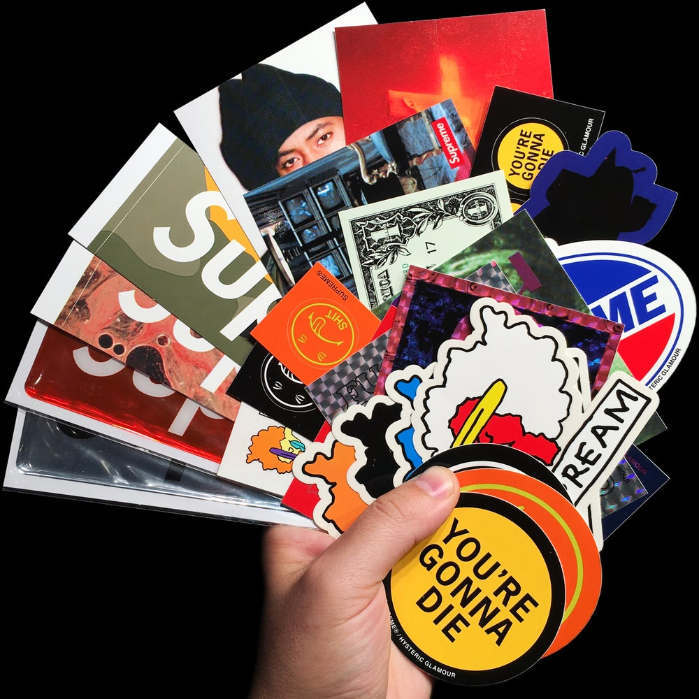 Image of 2017 FW Stickers (Drop Pack, Plastic, Nas, Ramm)