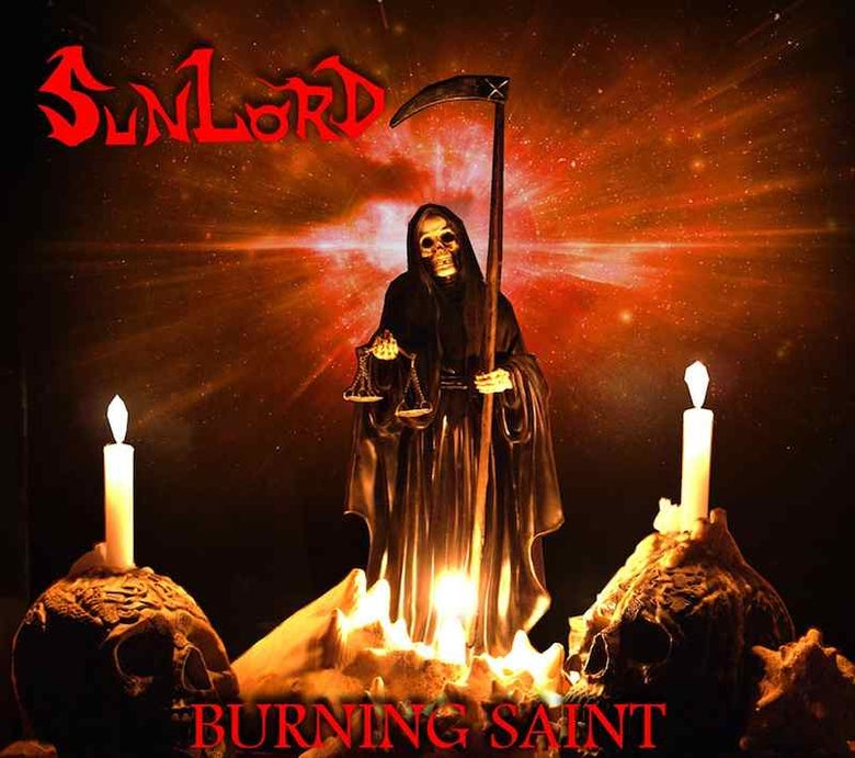 Image of Sunlord - Burning Saint CD